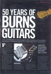 50 Years of Burns Guitars