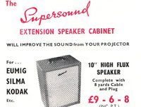 Promotional Leaflet for the Supersound Extension Speakers